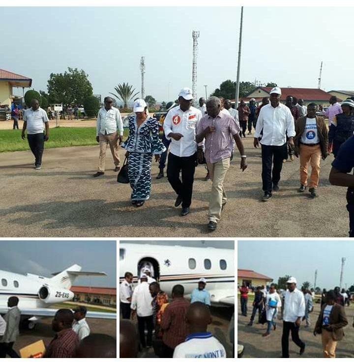 Campagne présidentielle: Martin Fayulu a quitté Bunia ce samedi pour Isiro