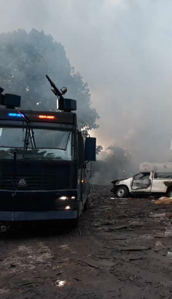 """Henri Mova, Vice-Premier ministre sur l'incendie de l'entrepôt de la Ceni: «Ce qui est sûr ce que les scrutins seront tenus le 23 décembre"""""""