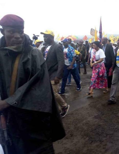 Bukavu: Mme Olive Lembe Kabila se dresse contre l'ingérence étrangère