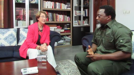 """Joseph Kabila au « Soir »: """" Mon successeur aura surtout besoin de dignité"""""""