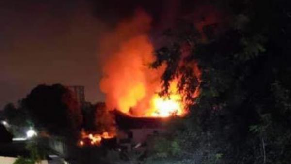 Incendie de l'entrepôt de la Ceni à Kinshasa: L' évaluation des dégâts est en cours