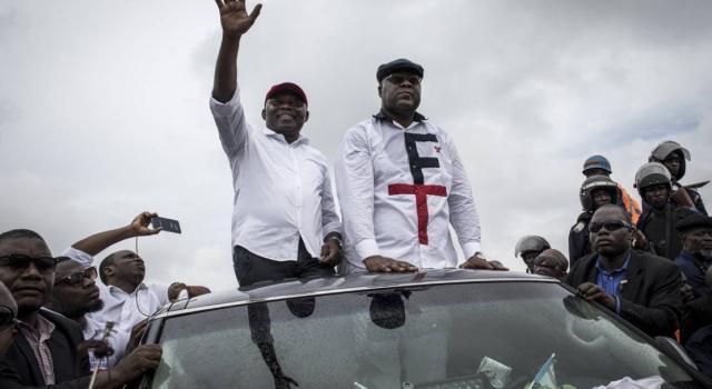 Présidentielle 2018: Félix Tshisekedi et Kamerhe abordent l'étape de Kananga ce vendredi