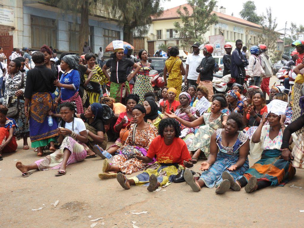 Bukavu : Sit in des vendeurs des souliers usagers, le Maire se réserve de tout commentaire