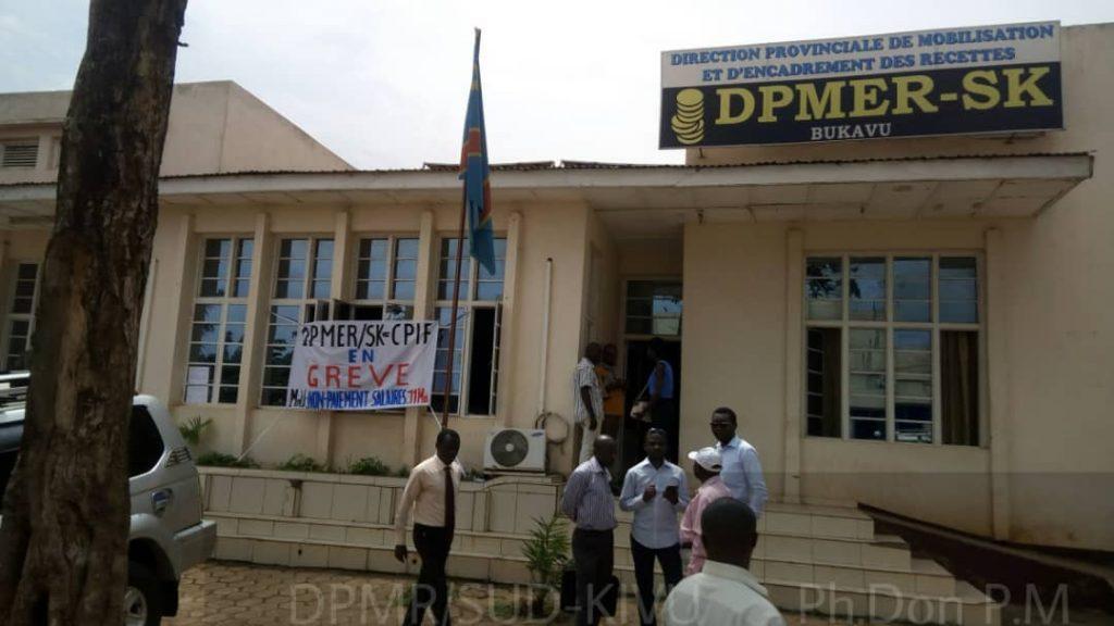 Grève à la DPMER Sud Kivu : les agents revendiquent 11 mois de salaires impayés