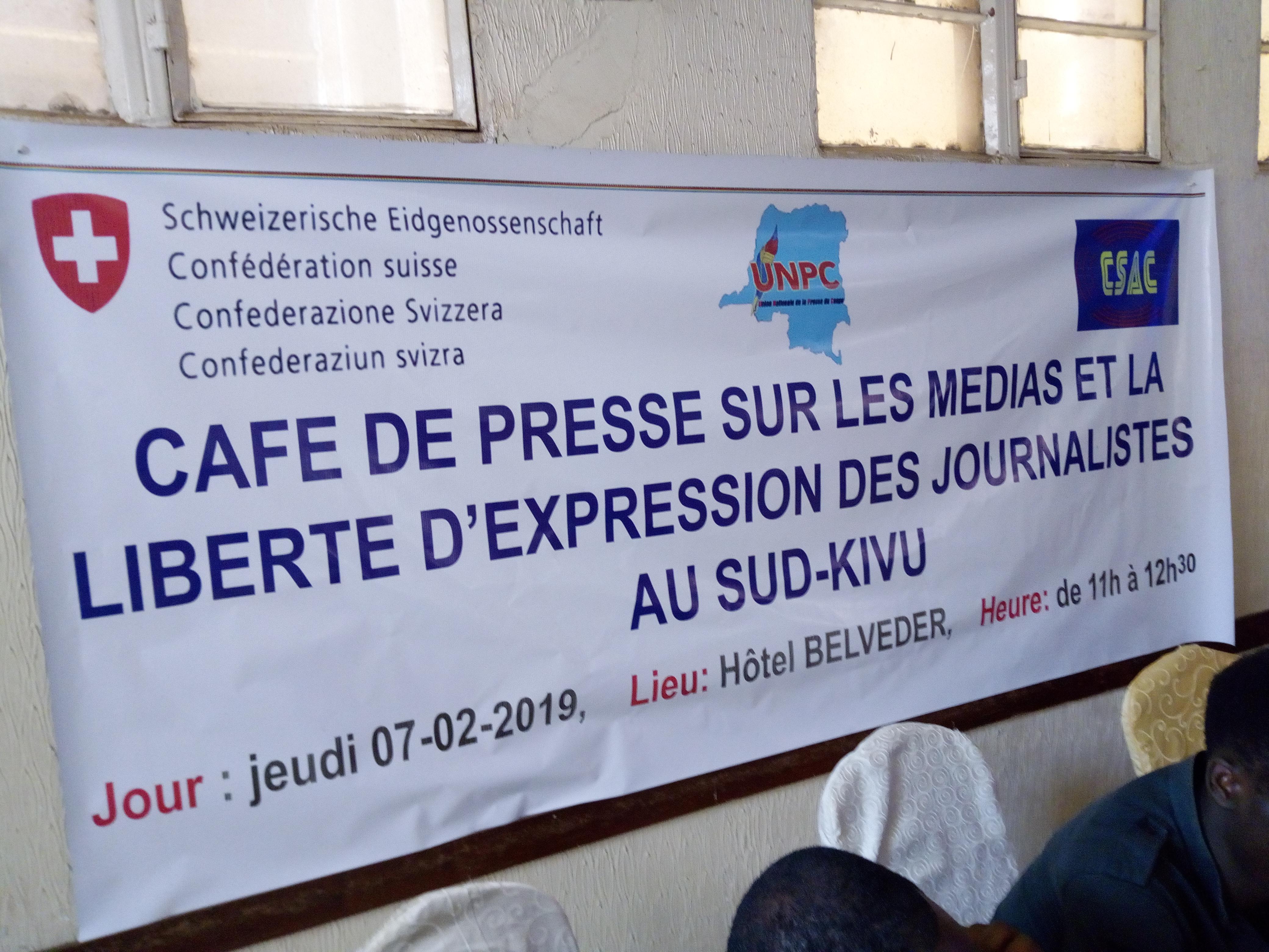 Bukavu : l'UNPC appelle les journalistes au professionnalisme dans l'exercice de leur travail