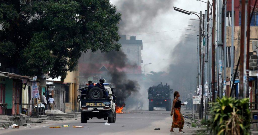 Goma : les habitants de Keshero s'insurgent contre le comportement de la Police pendant les manifestations publiques.