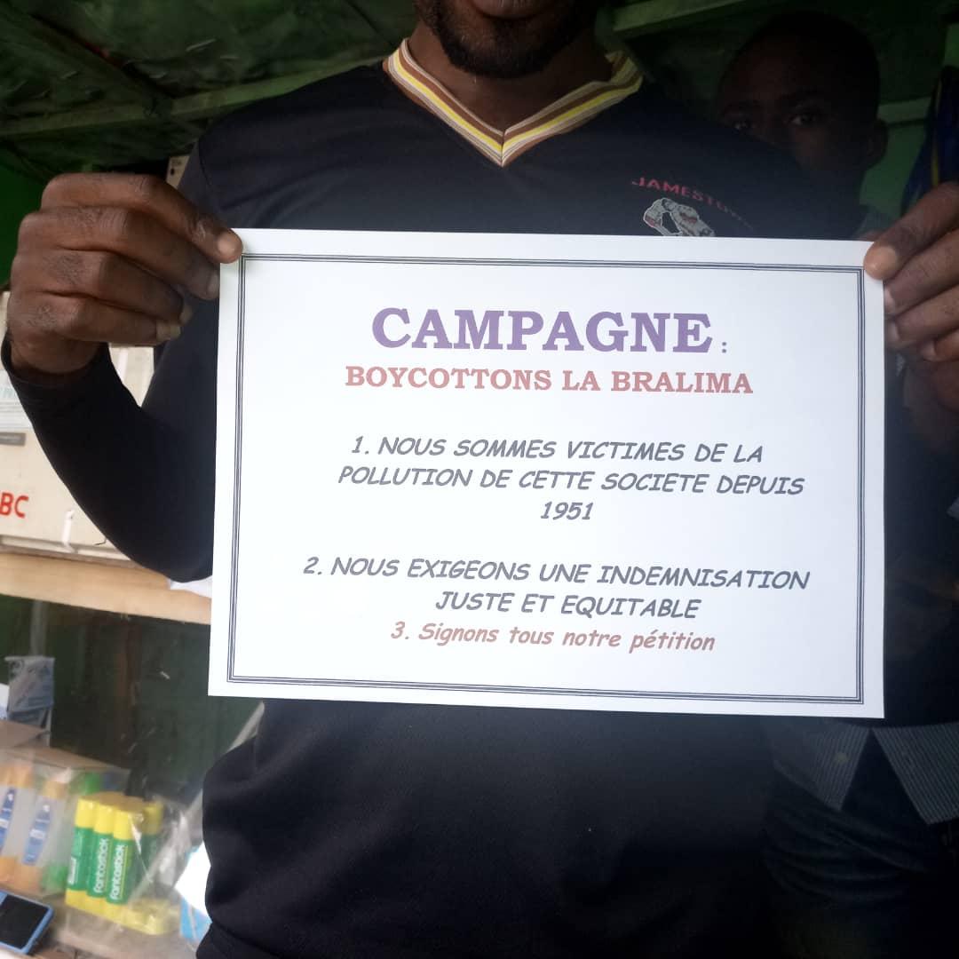La fédération de la société civile du Sud-Kivu  lance la campagne « Boycottons la Bralima »