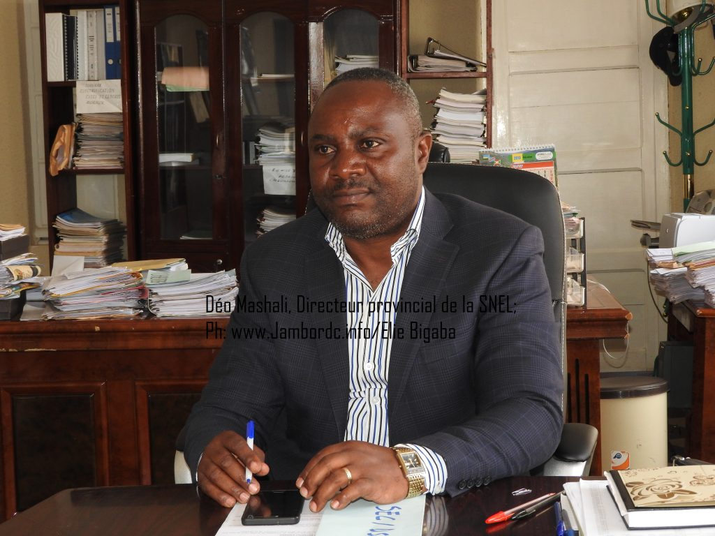 Sud-Kivu : Déo Mashali dévoile les raisons des délestages du courant électrique en province