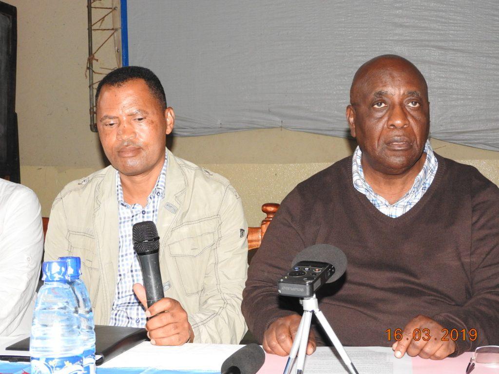 Le sénateur Pierre Lumbi annonce la conclusion d'un pacte de développement pour le Sud Kivu avec des députés élus