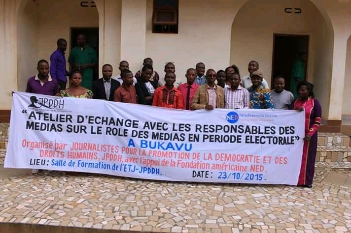 Uvira : JPDDH forme 15 journalistes  sur les droits humains et le processus démocratique