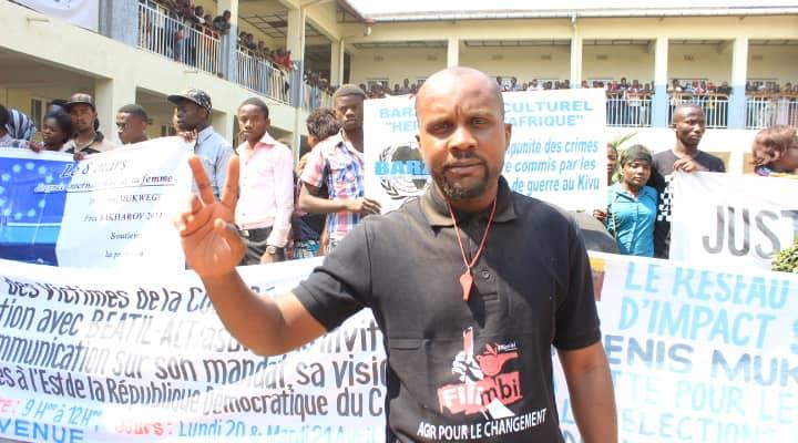 Ghislain Barholere (Mouvement Filimbi): « Nous allons nous joindre au sit-in des vendeuses des souliers si rien ne fait par la mairie de Bukavu »