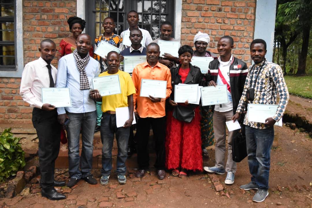Sud-Kivu : 15 journalistes du club presse d'Idjwi-nord viennent d'être formés par JPDDH ce 26 mars 2019