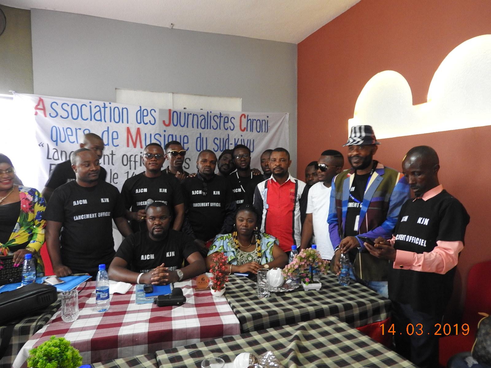 Lancement officiel des activités de l'AJCM Sud-Kivu, les musiciens locaux plaident pour la promotion de leurs œuvres