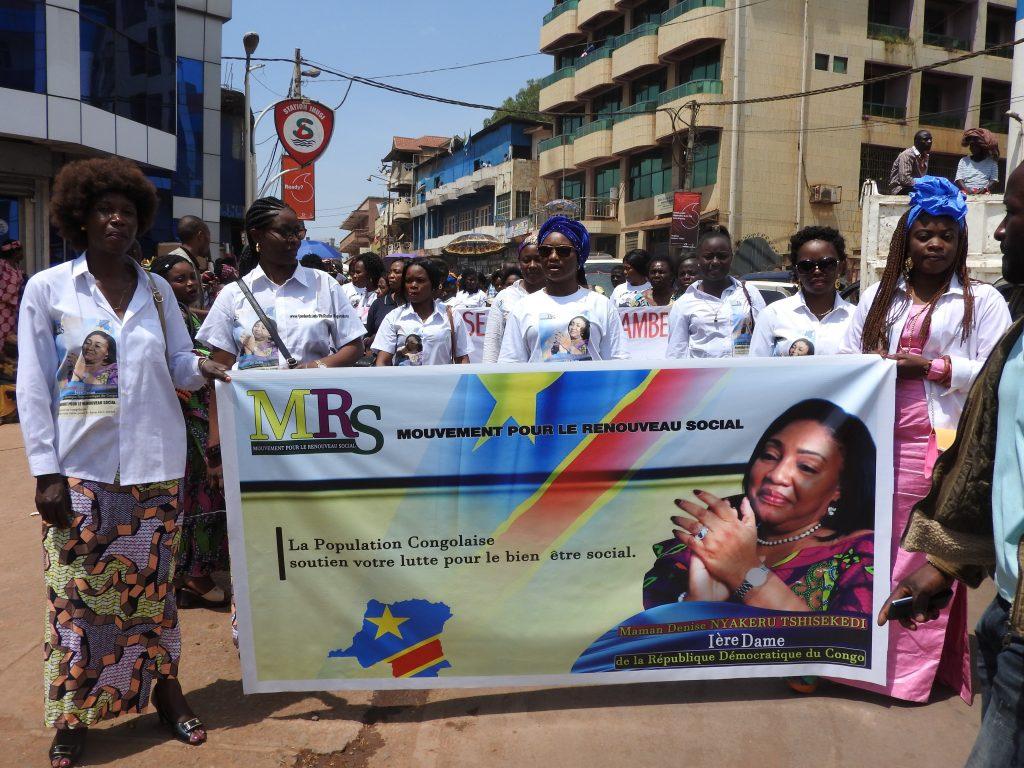 Me Aline Biruru à la Première Dame : « Nous somme prêtes à  accompagner la première dame de la RDC dans sa lutte si elle promet de promouvoir la femme congolaise… »