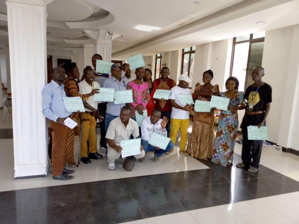 Uvira : Clôture de l'atelier de formation organisé par JPDDH sur l'éthique et la déontologie du journaliste
