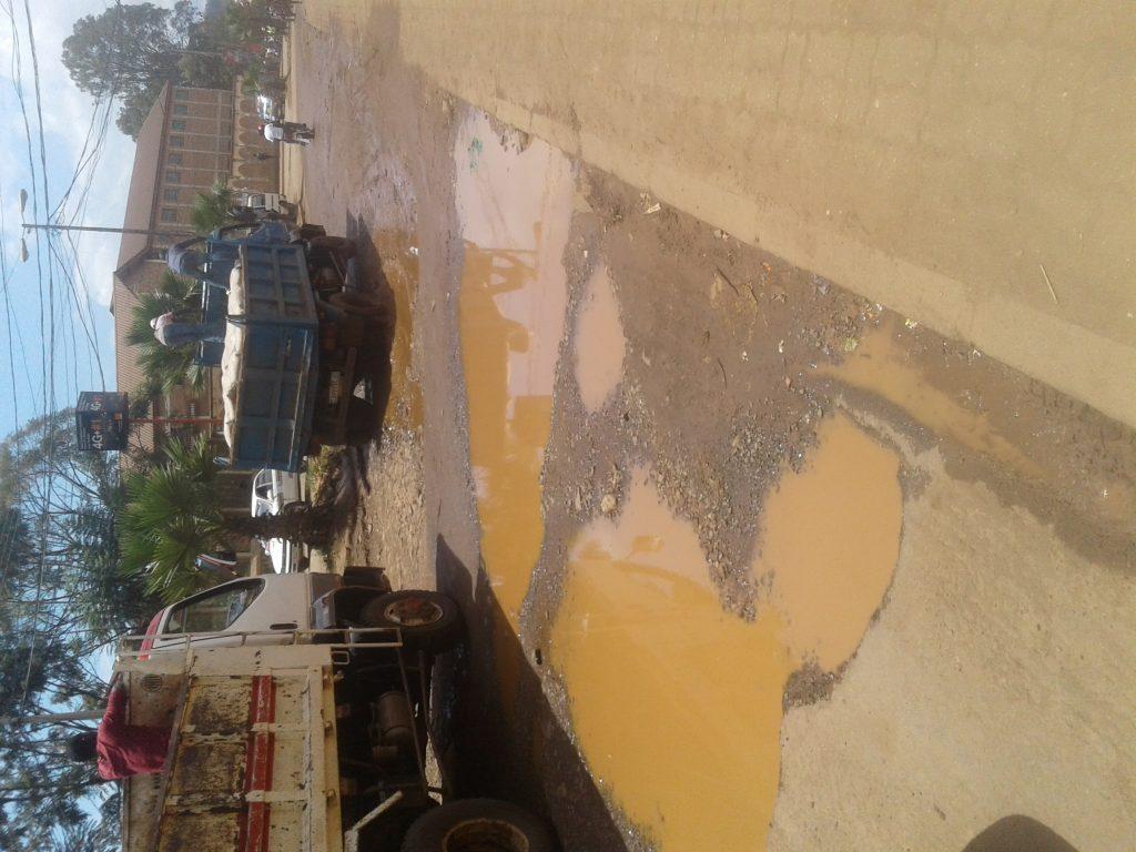 Bukavu : les usagers du tronçon routier Place Mulamba-Ruzizi I déplore son état de délabrement très avancé