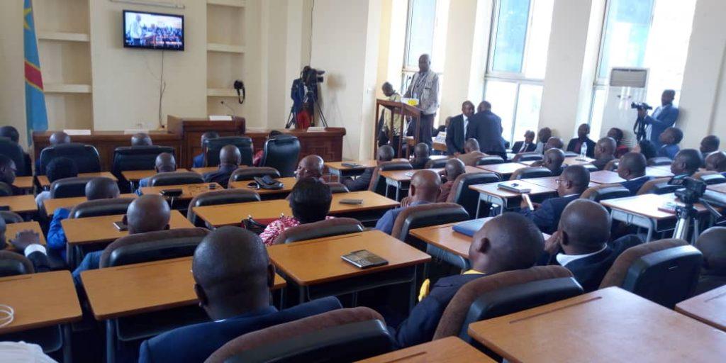 Début de la plénière élective du gouverneur au Sud-Kivu