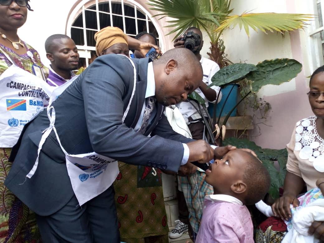 Sud-Kivu : Plus d'un million d'enfants âgés de 0 à 5 ans attendus pour la vaccination contre la poliomyélite