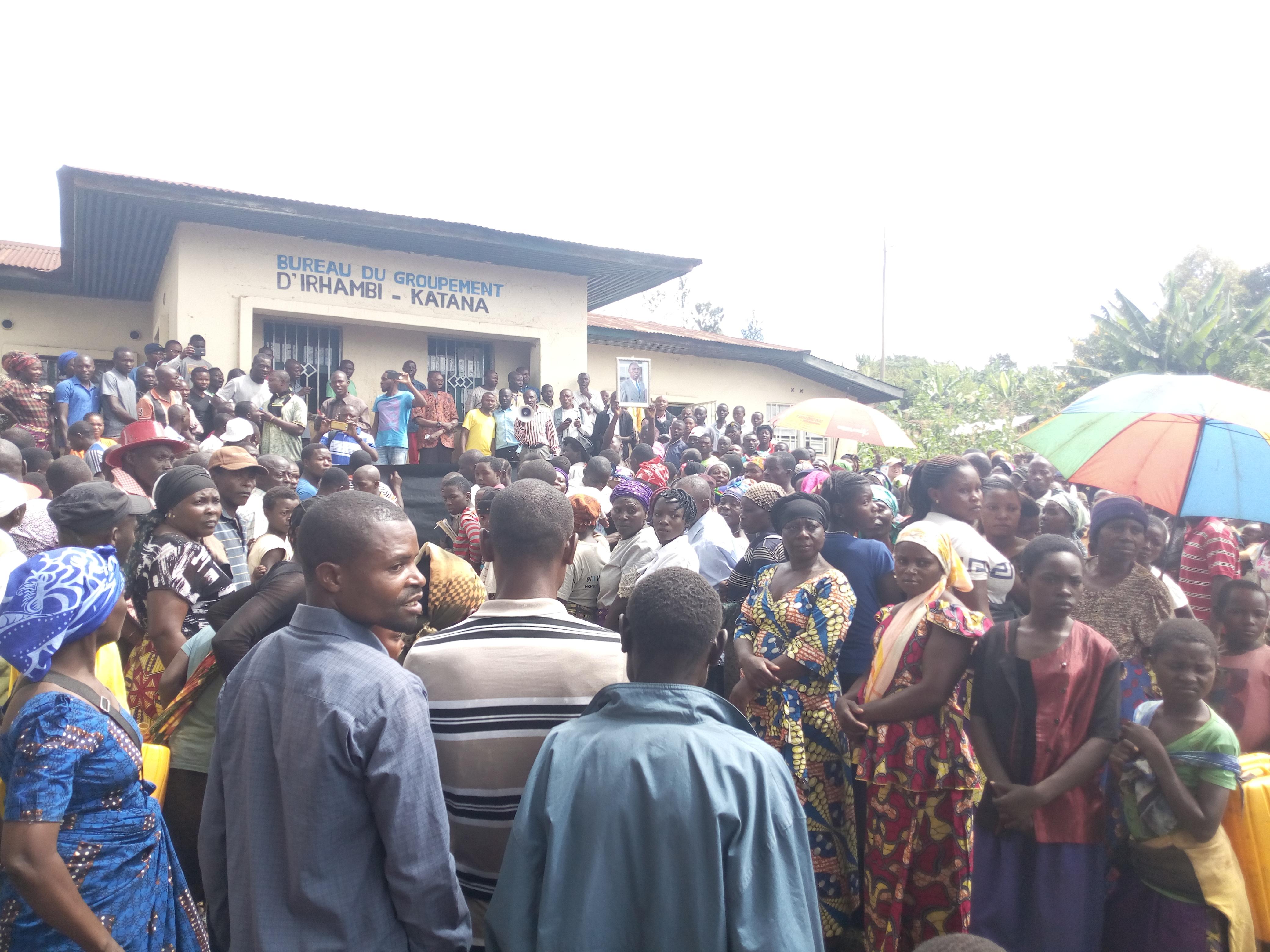 Sud-Kivu : Les habitants de Kabare exigent la réhabilitation du député national Kaningu Faustin
