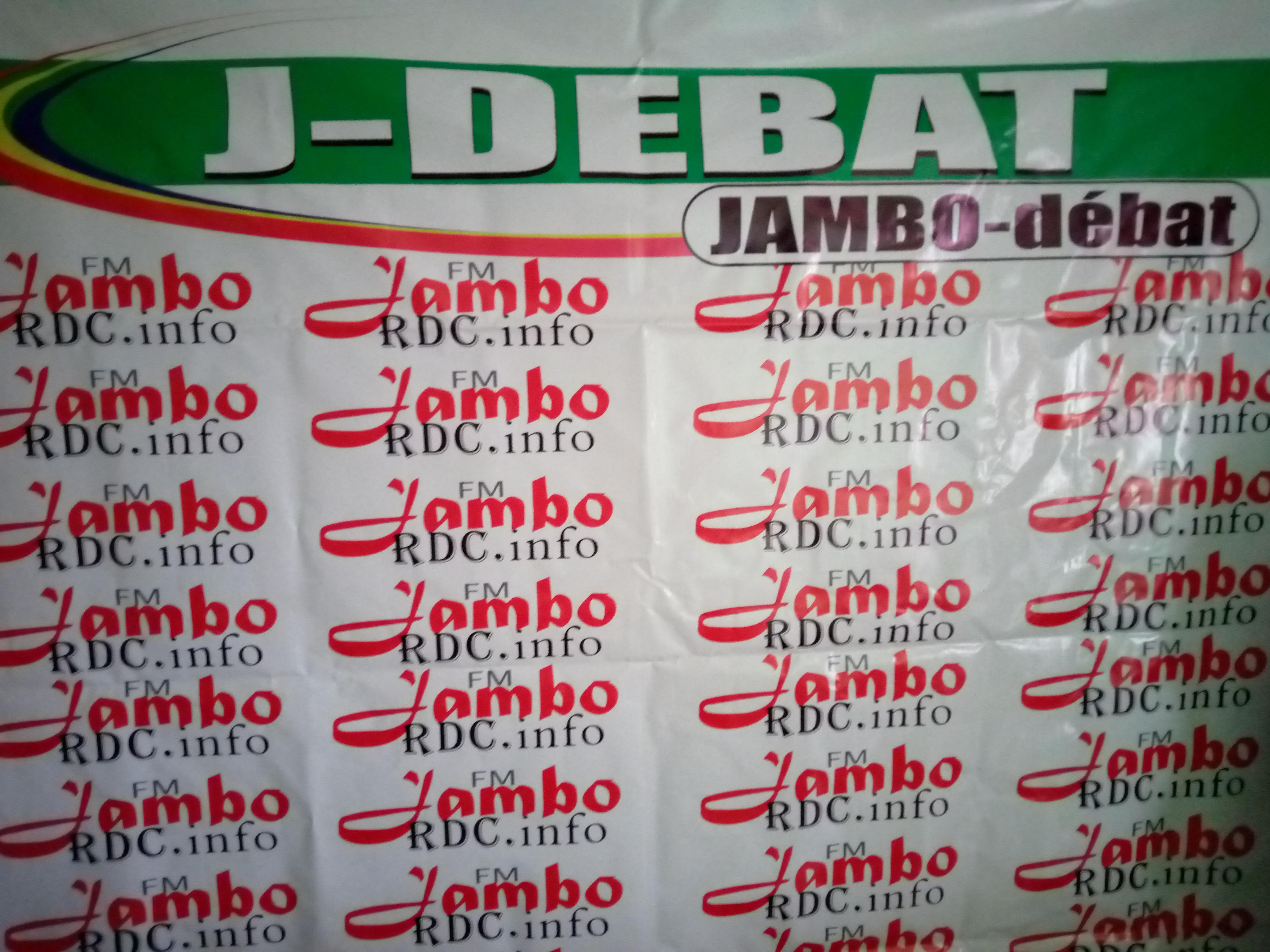 Sud-Kivu : Jambordc.info annonce une émission de débat public ce vendredi 28 Juin à Bukavu