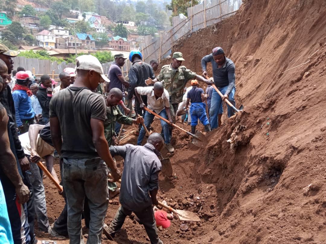 Bukavu : Éboulement de terre, la NDSCI pointe du doigt les responsables du secteur foncier