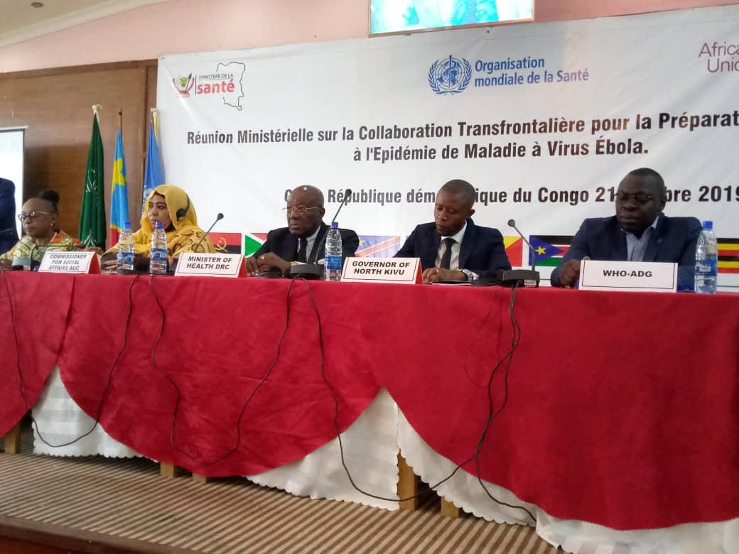 La RDC et ses neuf pays voisins approuvent un cadre commun pour lutter contre Ebola