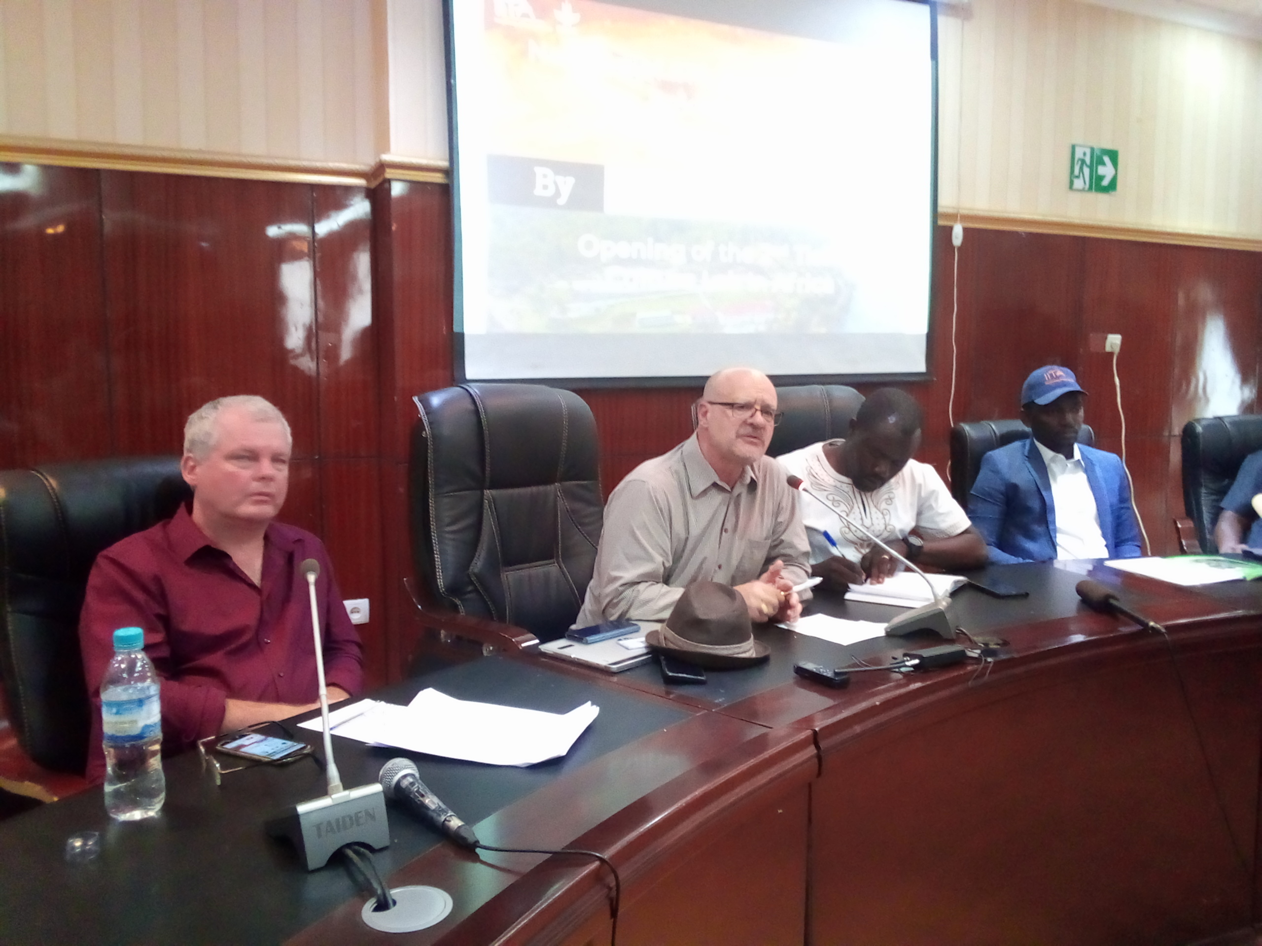 RDC: L'IITA annonce l'inauguration de son laboratoire de culture de tissue ce mardi 08 octobre