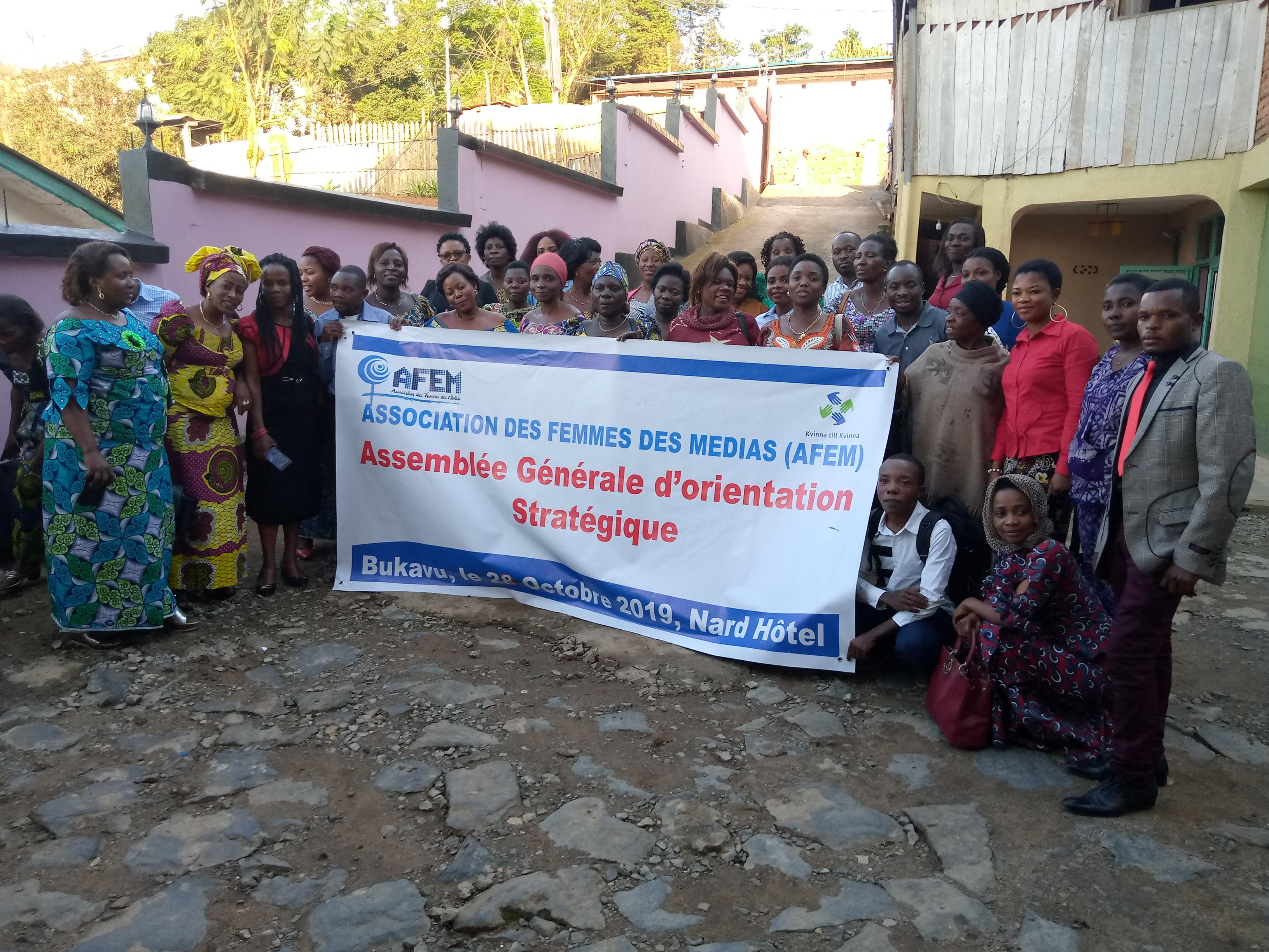 Bukavu : Assemblée générale de l'AFEM, ses succès et défis
