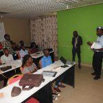 Les étudiants de l'ETJ sensibilisés par UNPOL sur la lutte contre l'insécurité à Bukavu