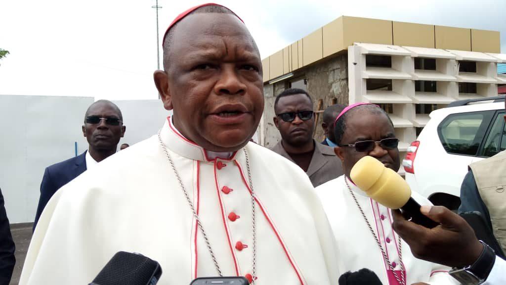 Insécurité à Béni : Le Cardinal Fridolin Ambongo en visite de compassion depuis ce 27 décembre 2019