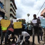 Bukavu : Les étudiants dans la rue pour exiger le retour de la paix à Béni et le départ de la Monusco