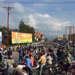 Goma : La population incendie le bureau de la police de Kasika après l'assassinat d'une élève