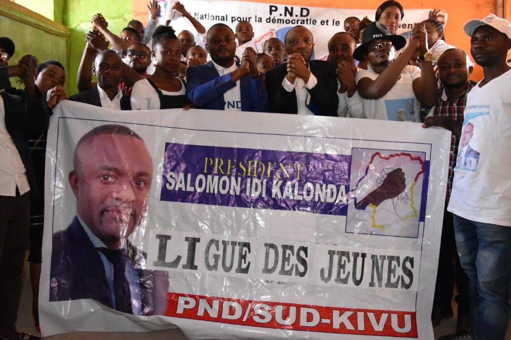 Sud-Kivu : La ligue des jeunes du PND s'engage à accompagner le nouveau parti politique de Moïse Katumbi (Ensemble pour la République)
