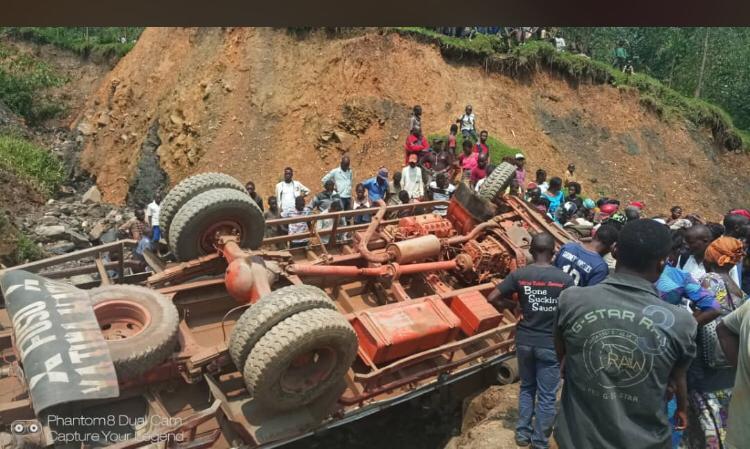 Kalehe : Un accident de circulation fait état de 3 morts et une cinquantaine de blessés ce 14 janvier (Bilan provisoire)