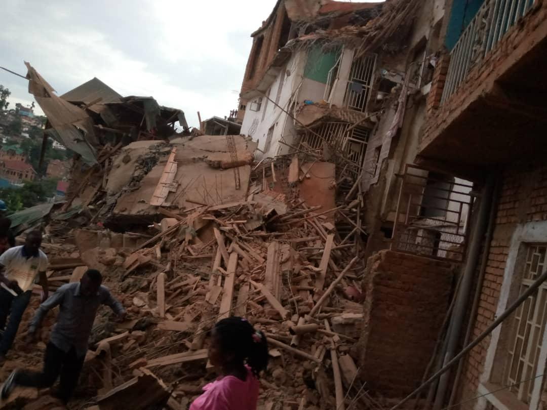 Bukavu : Écroulement d'une maison sur avenue Vamaro ce jeudi 6 février (Situation en cours)