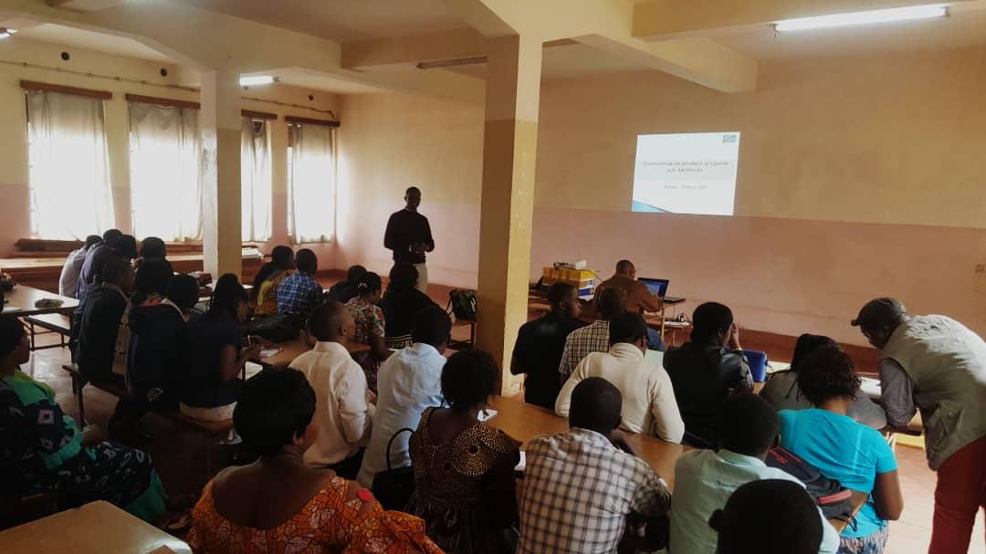 Sud-Kivu/Ebola : plusieurs leaders communautaires formés sur les mécanismes de prévention contre la MVE