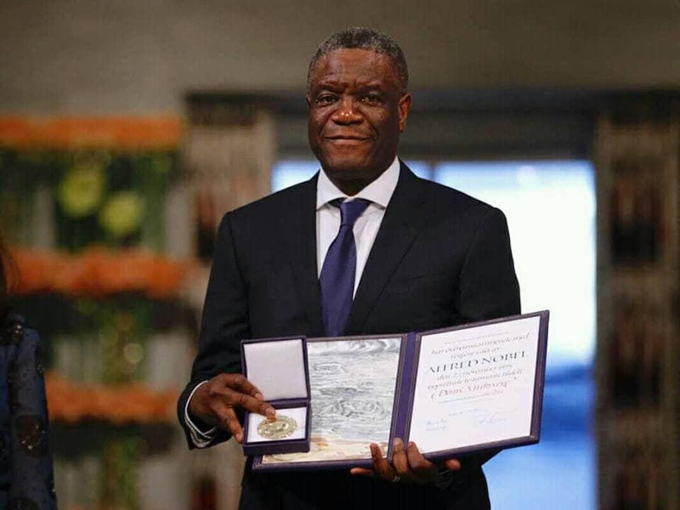 RDC: Les organisations SOS IJM et VSV demandent aux deux chambres du parlement à inviter officiellement le Dr D. Mukwege pour présenter son prix Nobel de la Paix à la Nation Congolaise