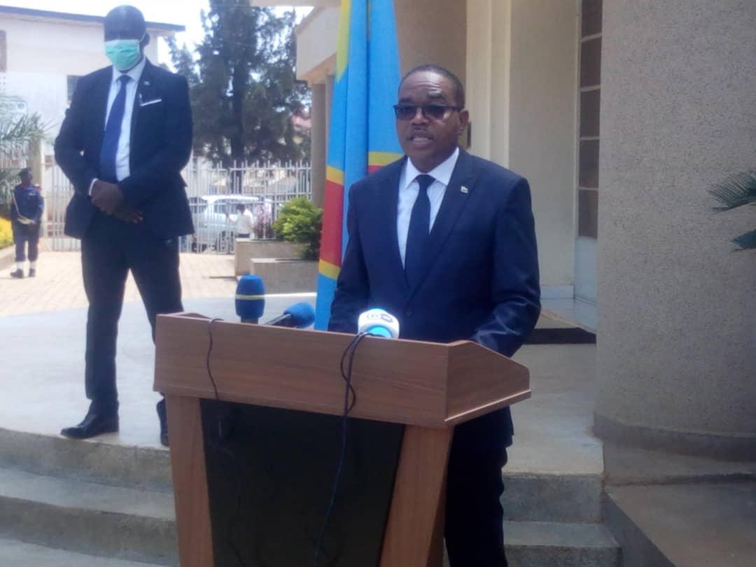 Sud-Kivu: Le Gouverneur annonce la guérison de deux cas de Coronavirus en province