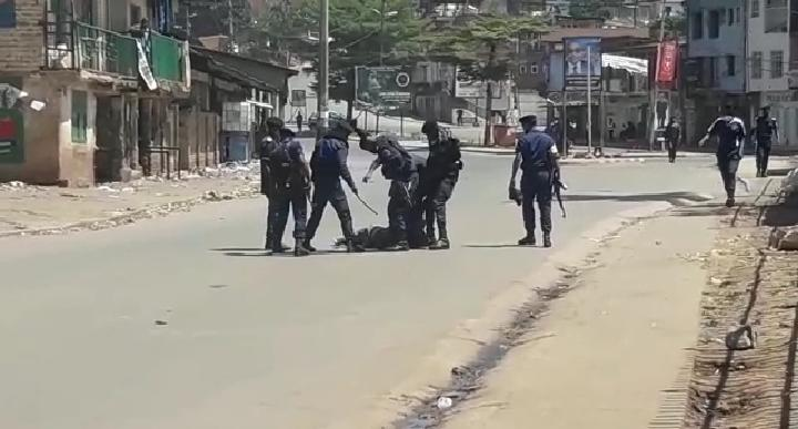 Bukavu : Port obligatoire des masques, des habitants qualifient d'inhumains les arrestations par la PNC