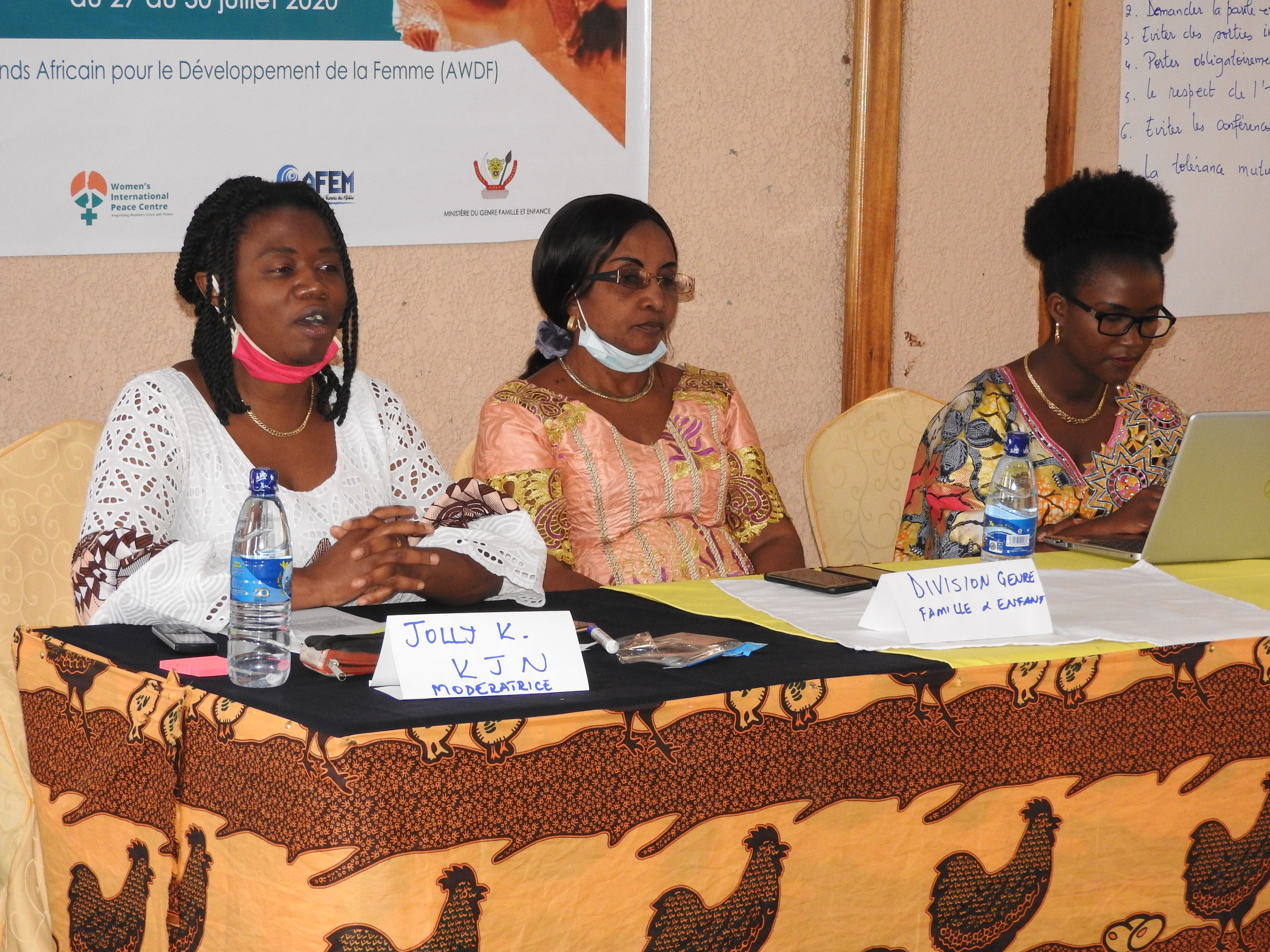 Sud-Kivu: Les femmes leaders réunies dans KJN-AFEM-WIPC haussent le ton sur la parité homme-femme