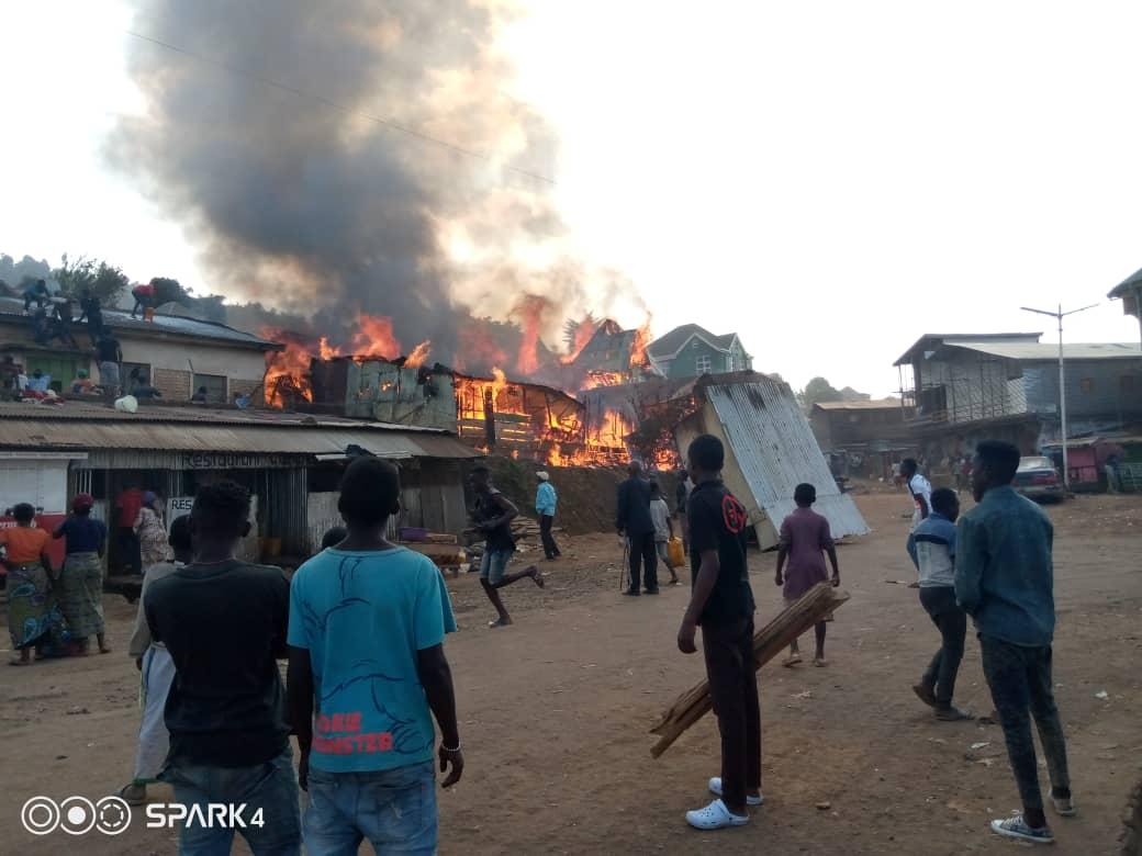 Bukavu : 4 maisons calcinées et 3 autres endommagées dans un nouvel incendie à Cimpunda