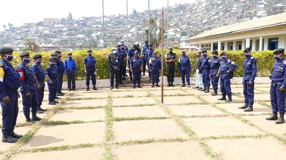 Sud-Kivu: «Le respect des droits de l'homme» au centre d'une formation des commandants de la PNC