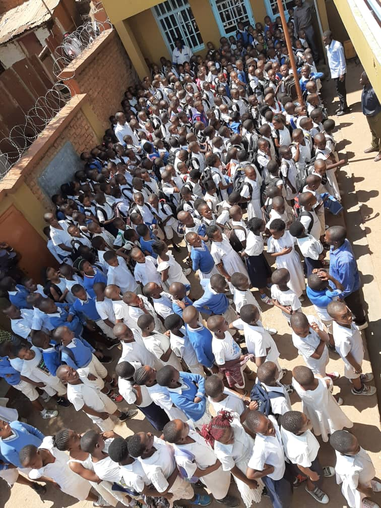 Bukavu: Le taux de réussite évalué à 99.2% au C.S LA COLOMBE pour l'année scolaire 2019-2020