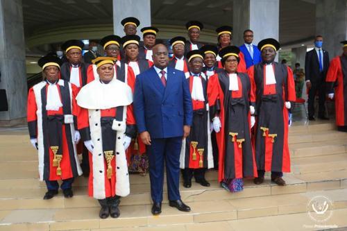 RDC : Mabunda, Thambwe et Ilunga absents à la prestation de serment des hauts Magistrats