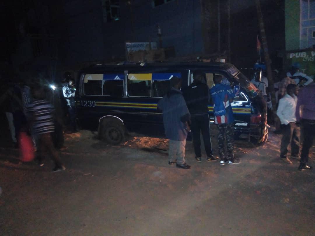 Bukavu : 2 morts dans un accident à Muhungu, la société civile condamne l'état d'ivresse du conducteur