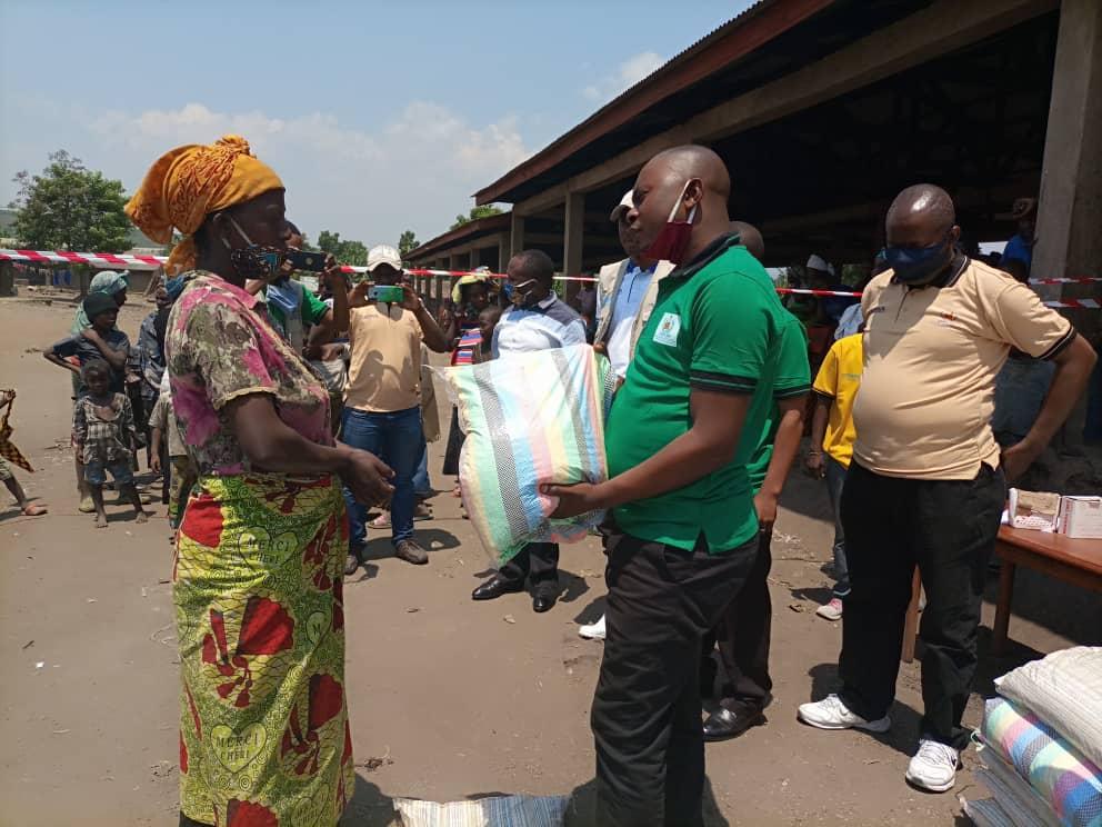 Nord-Kivu : 480 ménages de Rutshuru bénéficient des semences agricoles de la part de L'ANPT-PP
