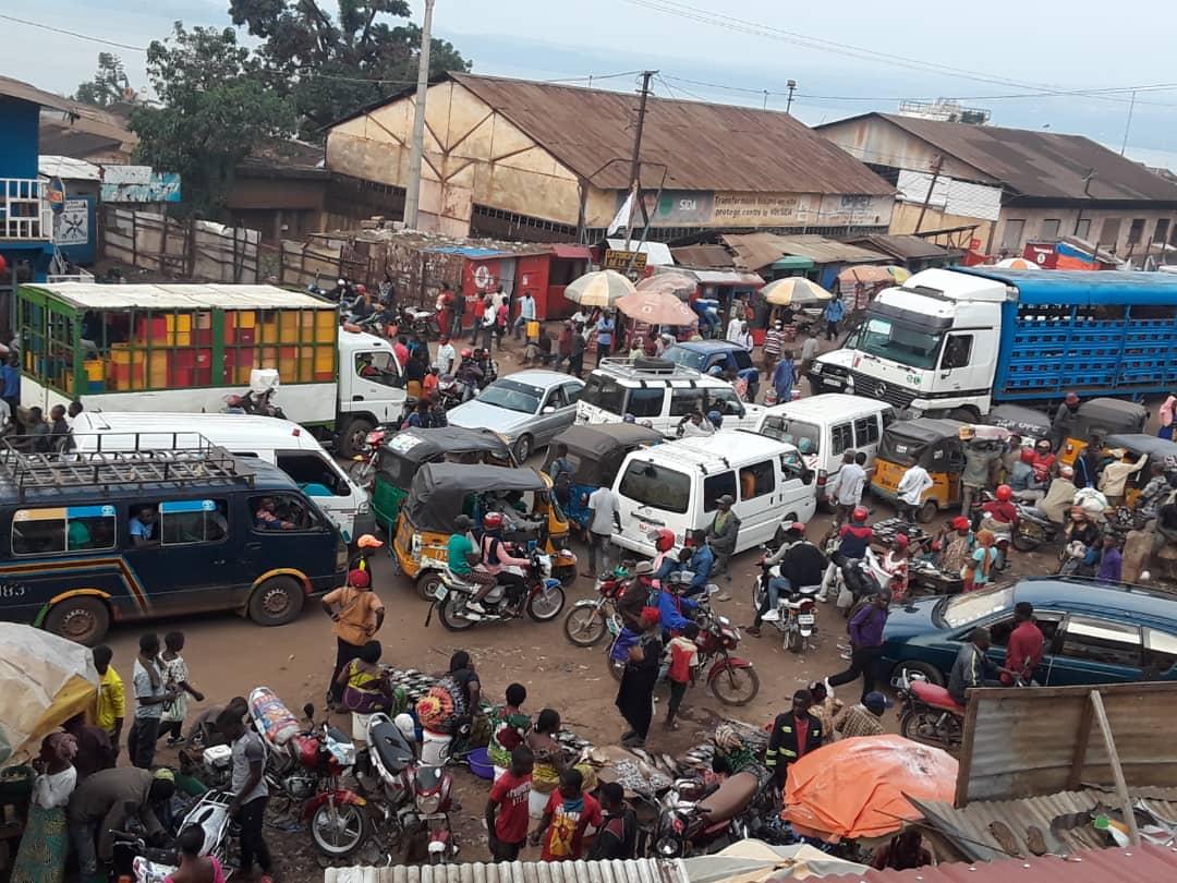 La BRALIMA-Bukavu accusée d'être à la base des embouteillages entre la place de l'indépendance et Bagira