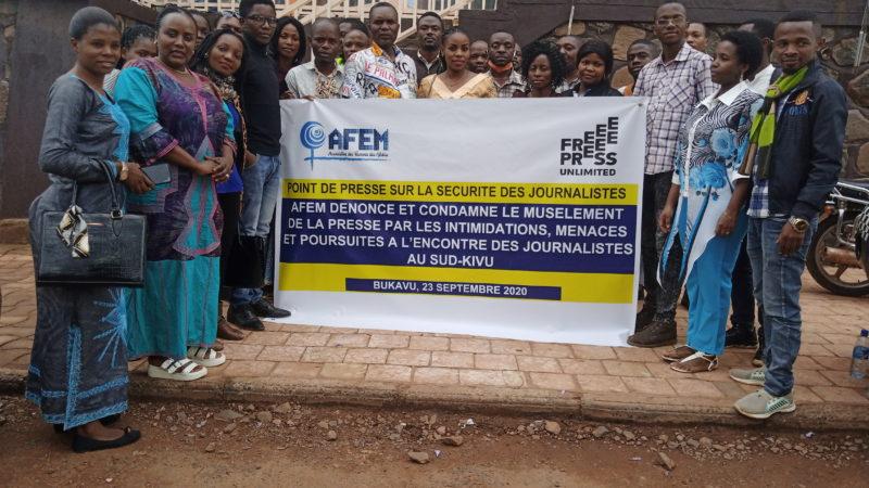 Sud-Kivu: Musellement des journalistes, AFEM plaide pour une nouvelle ère de la liberté de presse