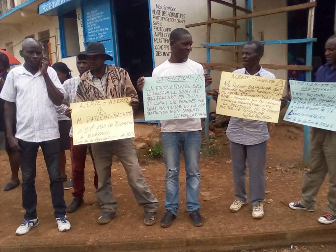 Bukavu : L'arrivée de Patient Bashombe conditionnée par le démenti des propos qu'il aurait dit contre Vital Kamerhe