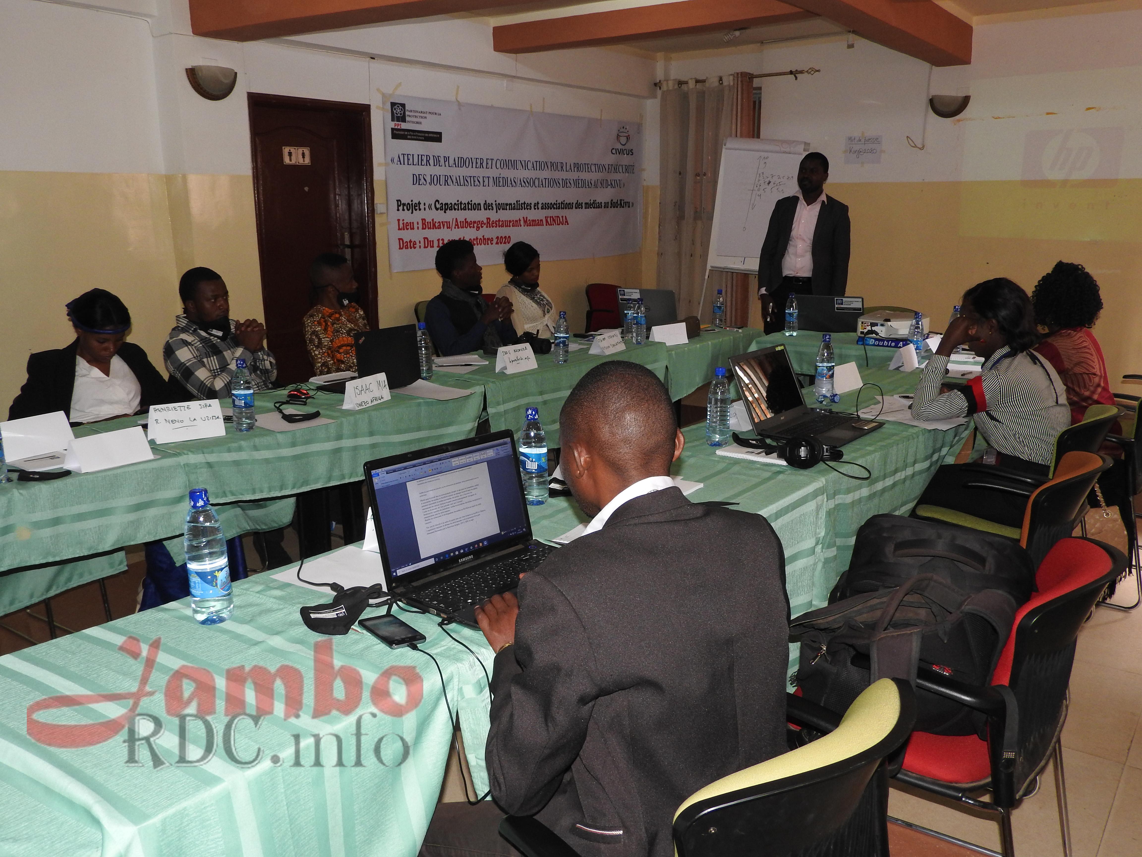 Sud-Kivu: La protection et la sécurité des journalistes au centre d'un atelier de plaidoyer organisé par le PPI